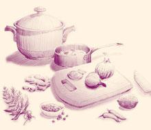 《廚房裡的人類學家:「其實,大家都想做菜」》書封