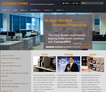 CONNECTPRO商業網站設計